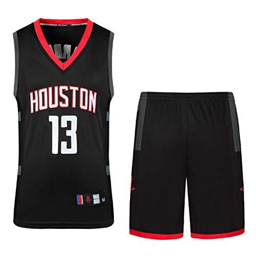 CAMILYIN Camiseta de Jugador de Baloncesto para Hombres, NBA #13 Camiseta de Los Fanáticos, Chaleco Transpirable Deportivas de Jersey Swingman,Negro,M