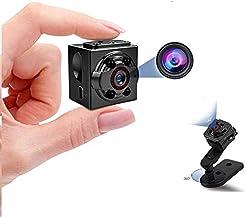 $21 » Hidden Mini Camera, 1080P Full HD Nanny Cam, Night Vision & Motion Activation for Indoor Outdoor Portable Secret Surveilla...