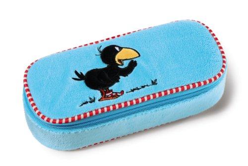 NICI 35802 - Mäppchen Rabe Socke, Plüsch, rechteckig, 23 x 9.5 x 6 cm