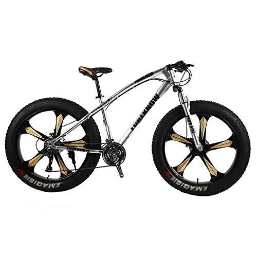 Mountain Bike Bicicleta para joven Bicicleta MTB de adulto Gran Playa del neumático de motos de nieve Bicicletas bicicleta de montaña for hombres y mujeres de 26 pulgadas ruedas ajustables velocidad d