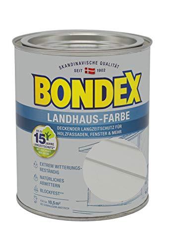 Bondex Landhaus-Farbe 0,75l steingrau - 391303