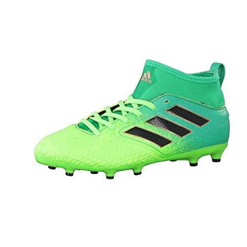 adidas Unisex-Kinder Ace 17.3 Fg J für Fußballtrainingsschuhe, Grün (Versol/Negbas/verbas), 36 EU
