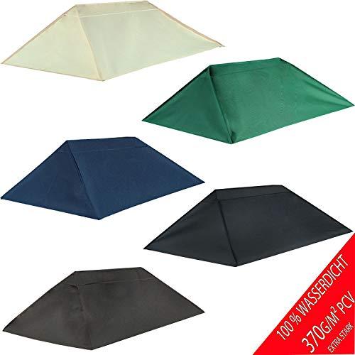 Frearten.de - Tetto di Ricambio per Gazebo 3 x 4 m, Sabbia, Gazebo Antico, Impermeabile, Materiale: Panama PCV Soft 370 G/M2, Extra Resistente, Modello 9