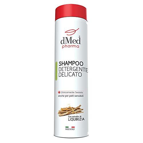 dMed pharma Shampoo Detergente Delicato - Ideale Per Lavaggi Frequenti - 400 Ml