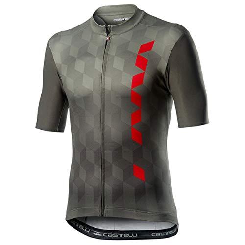 CASTELLI - Camiseta para Hombre, Hombre, Camiseta, 4520024, Forest Gray, S