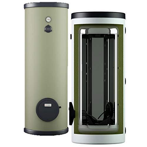 Edelstahl Elektro Standspeicher Warmwasserspeicher Boiler 120-500 Liter mit 1,5-10 kW Heizleistung…