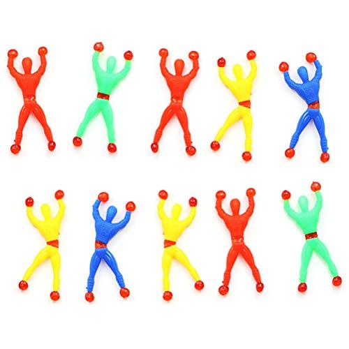10PCS Fensterkletterer Ninja Klettermaxe als kleine Party Überraschung für Kinder Mitgebsel Geburtstag Kindergeburtstag(Zufällige Farbe)