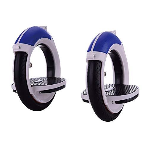 RUIXFFT Boardless Skateboard, Erwachsene mit Doppelrollen Roller Selbstfahrer Skates Inline Skate Räder Drift Brett (Color : Blue)