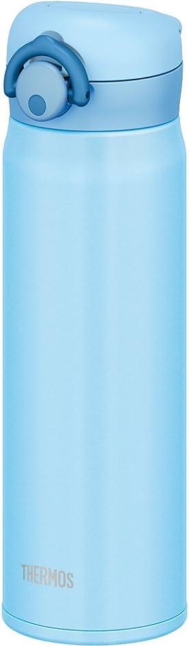 つかまえるびっくりしたライバルサーモス 水筒 真空断熱ケータイマグ 【ワンタッチオープンタイプ】 500ml ライトブルー JNR-500 LB