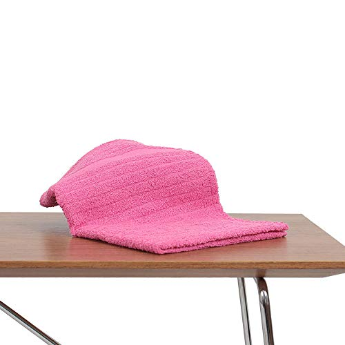 Kit 60 Toalha de Rosto Premium para Salao de Beleza, Spas, Clinicas Pink