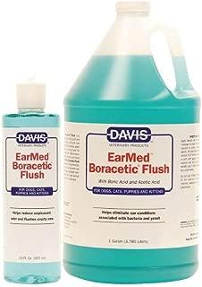 MPP Boracetic Earmed Dog Ear Flush Solution Bacteria Pet Pain Reliever 12oz or 1gal