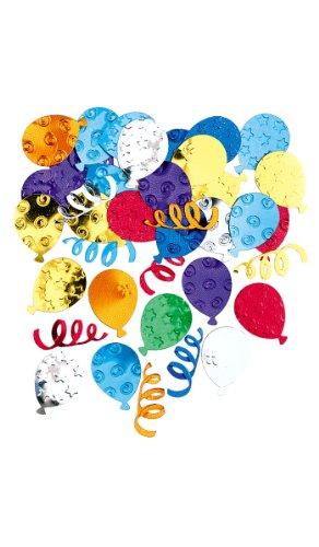Confettis De Table Ballons - Multicolores - Taille Unique