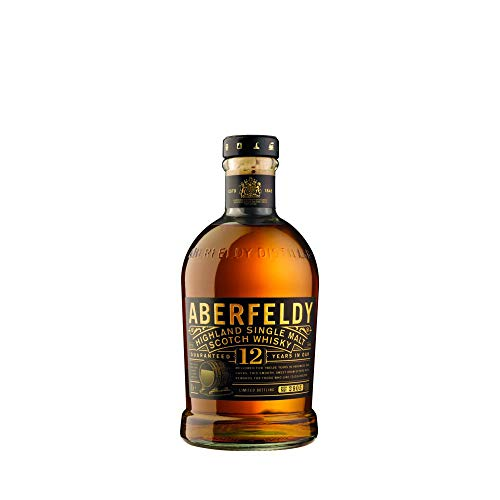 Aberfeldy 12 ans d'âge Highland Single Malt Scotch Whisky...