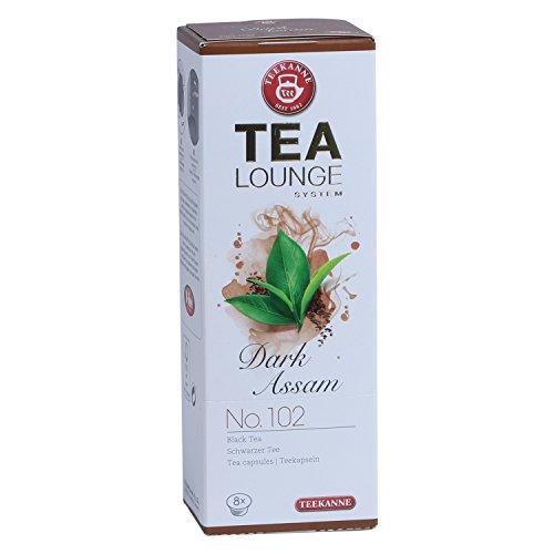 Teekanne Tealounge Kapseln - Dark Assam No. 102 Schwarzer Tee (8 Kapseln)