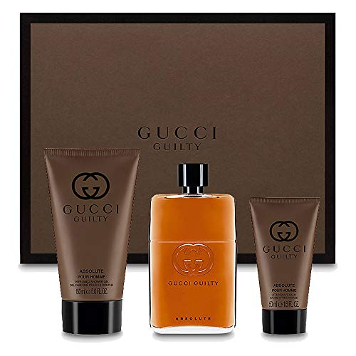 Gucci Guilty Absolute Set, Uomo, Edp 50+ Asb X