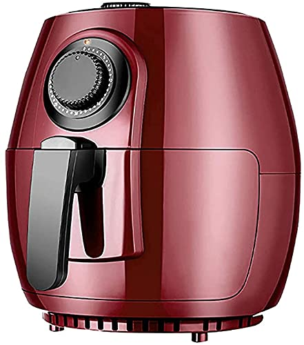 Freidora de aire 4.5L 30 minutos Temporizador y temperaturas de temperatura para el aceite saludable sin aceite o suave gordo