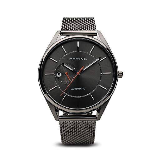 BERING Herren Analog Automatik Uhr mit Edelstahl Armband 16243-377