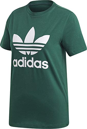 Adidas Trefoil Tee, Maglietta Donna, Collegiate Green, 42