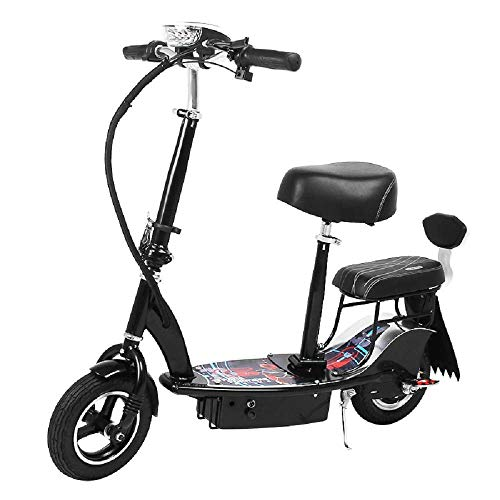 Y&XF Scooter eléctrico Doble para Adultos, Mini Patinador Plegable pequeño para Padres...