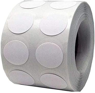 1000 PCs White Blank Color-Code Label Permanent NEW San Francisco Mall before selling Dot Cir Adhesive