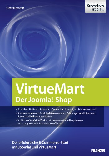 VirtueMart - Der Joomla!-Shop (Professional Series)