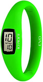 IOION Casual Watch For Unisex Digital Silicone - Green