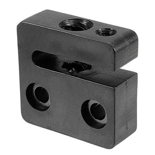 JINKEBIN Accesorios para impresoras Accesorios de la Impresora 3D, 8mm 3PCS T8 2 mm Paso Entre T Rosca Trapezoidal Pom Tornillo Tuerca del Asiento for Impresora Impresora 3D