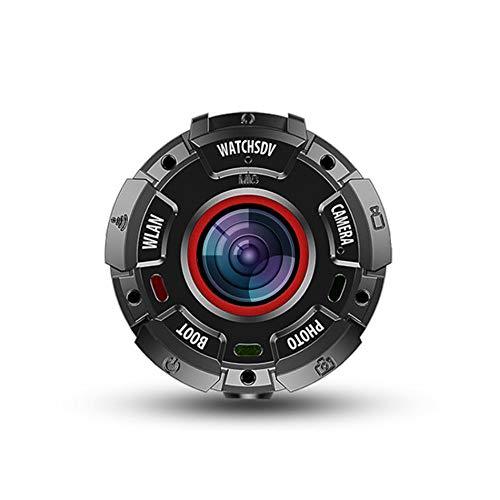 LBL-LLL Tauchkamera, Action Cam Sports Kamera Unterwasserkamera WiFi 153 ° Weitwinkel Nacht-Modus Wasserdicht Bis 30 Meter Anti-Shake Magnetische Adsorption Fall- Und Staubdicht Tragbar