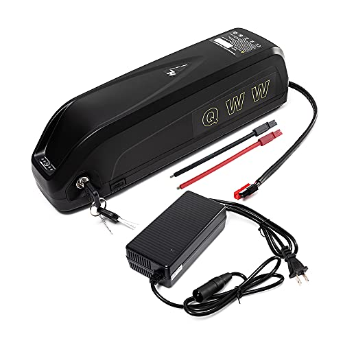 48V 10AH-20AH Electric Bike Lithium ion Battery Pack for 200W-2000W Motor with Charge (Hailong-(4 Types), HL3B-48V13AH30amp(200-1100W))
