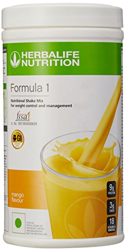 Herbalife Formula 1 Shake for Weight Loss (500 g,Mango)