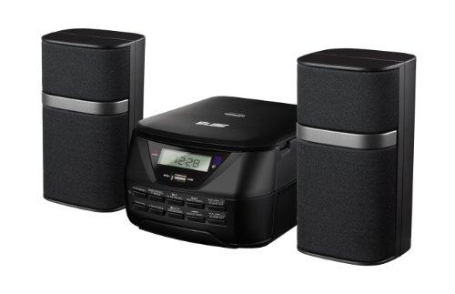 ELBE HiFi-557-USB - Micro cadena estéreo digital con MP3, CD, Aux-In, 2 x 2.5 W
