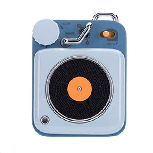 Atomic platenspeler Bluetooth Intelligent Audio Aluminium Mini draagbare luidspreker geschikt voor gezinnen of reizen, 4