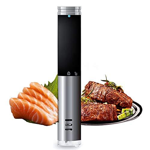 ZYGF Cocción Sous-Vide, Cocina Baja Temperatura IPX7 Impermeable, Cocina Sous Vide Control Preciso De La Temperatura Y El Tiempo para Una Alimentación Saludable