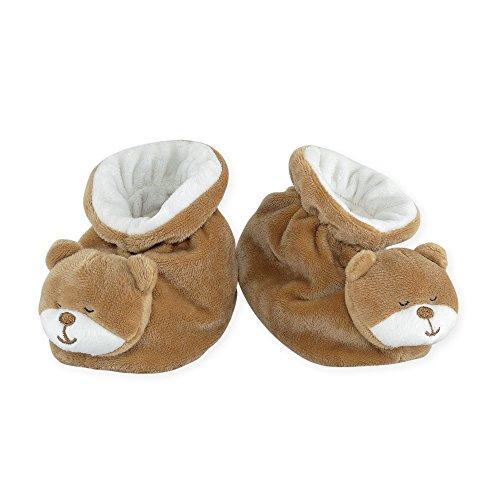 Tres Kilos Sept-zapatos para bebé, diseño de bebé antideslizantes. chocolate Talla:3 a 6 meses