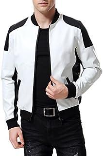 83f1b49e1 Amazon.com: Whites - Leather & Faux Leather / Jackets & Coats ...