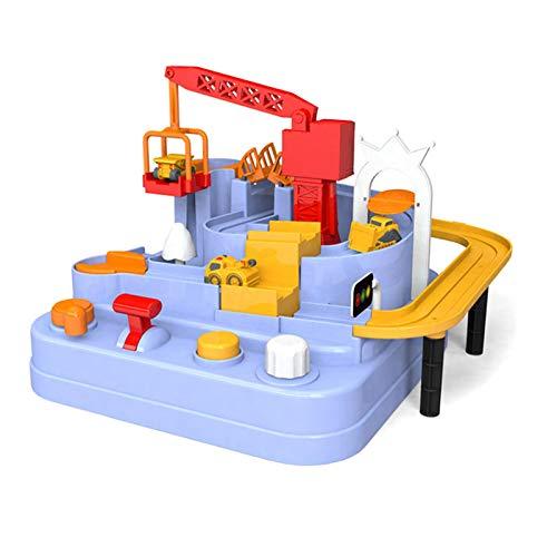 Wenhe Car Toy Interesante juego de vehículos educativos para niños, track Cars, juguete para autopistas de puzzle, preescolar, juguete educativo para niños