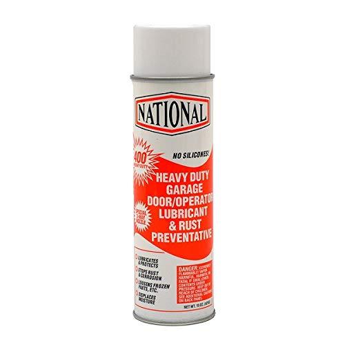 400-HD Orange National Heavy Duty Garage Door Operator Lubricant & Rust Preventative 15oz Aerosol Orange NO Silicones