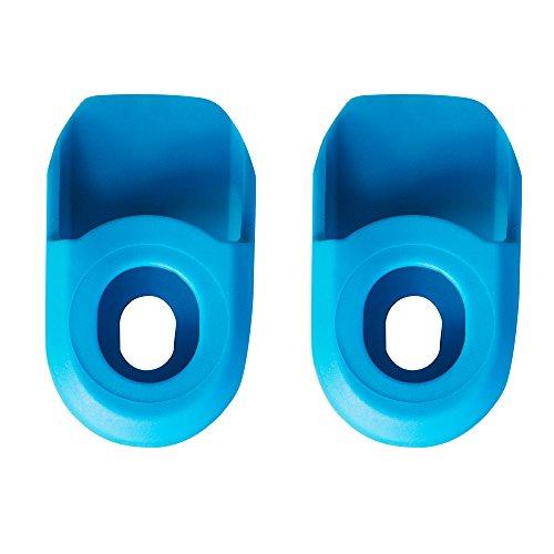 SB3 SBPEPRO2 Paire de Protections de manivelle Mixte Adulte, Bleu