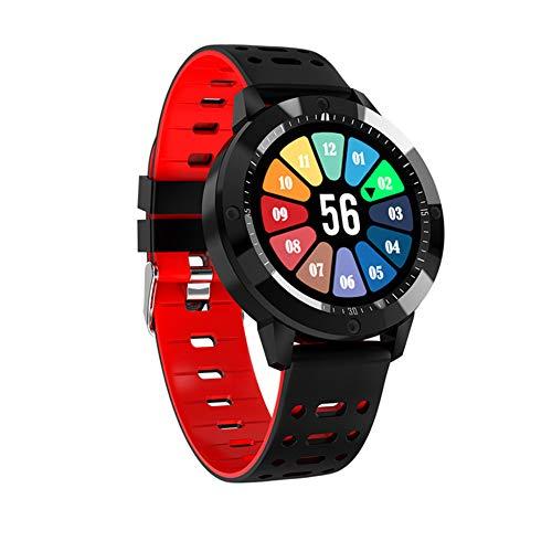 HOLACZES Fitness Tracker Hartslagmeter, Activiteitstracker, Stappenteller Horloge met Aangesloten GPS, Waterdichte Calorie Counter voor Vrouwen, Mannen, Kinderen En Gift