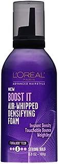L'Oréal Paris Advanced Hairstyle BOOST IT Air Whipped Densifying Foam, 6.8 fl. oz.