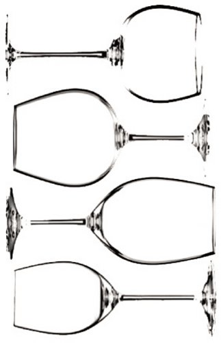 Riedel 5416/47 Vinum Tasting Set Je 1 Stück 416/0,7,33,97