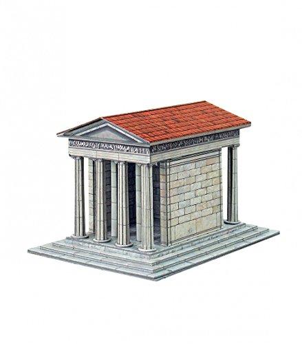 Keranova – Puzzle 3D Temple d'Athéna Nikè Collection Temple of The World, échelle 1/87ème, 10 x 13 x 9 cm - Keranova338
