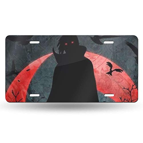 Suzanne Betty Aluminum License Plates - Naruto Itachi License Plate Tag Car Accessories 12 X 6 Inches