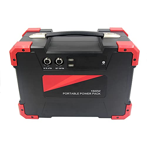 Generador portátil de 1500W 3000W Peak Portable Energy Almacenaje de energía de...