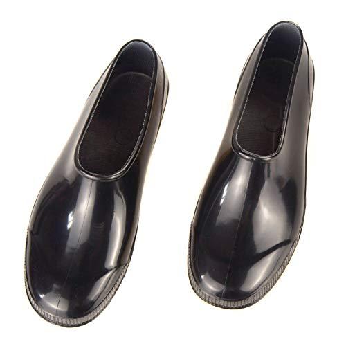SFGSA Botas Lluvia Impermeable y Antideslizante Cubierta del Zapato Cubiertas para Zapatos para Motocicleta y Bicicleta,44