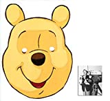 *Mask Pack* Winnie The Pooh Party Mask (Pooh Bear) - Includes 6X4 (15X10Cm) Star Photo