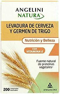 LEVADURA DE CERVEZA Y GERMEN DE TRIGO NATURA NUTRICION Y BELLEZA CON VITAMINA E Y PROTEINAS VEGETALES