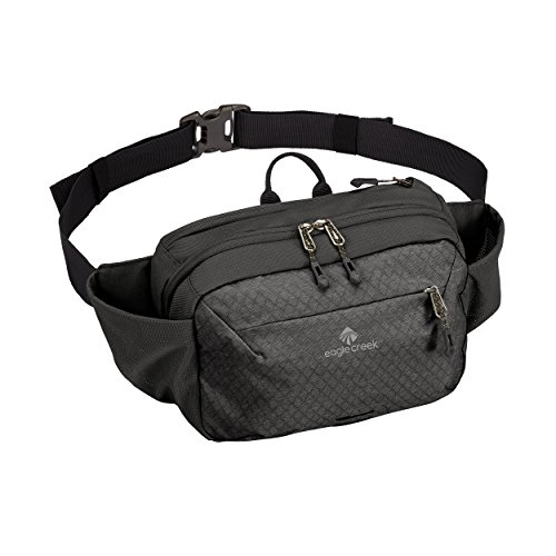 Eagle Creek Wayfinder Multiuse Waist Pack, Black/Charcoal