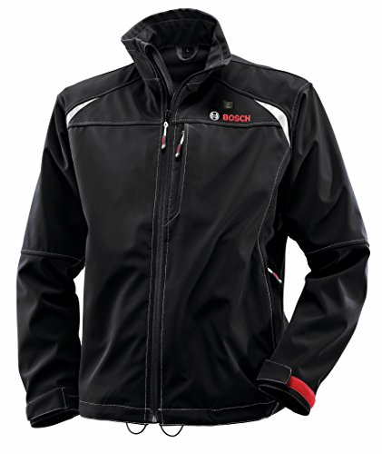 Bosch Men's 12-Volt Max Lithium-Ion Soft Shell Heated Jacket...