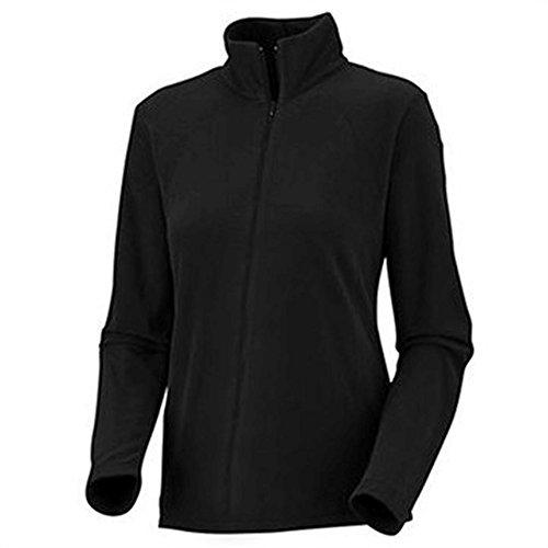 Columbia Women's Plus-Size Fast Trek II Full Zip Fleece Jacket Plus, noir, 1X